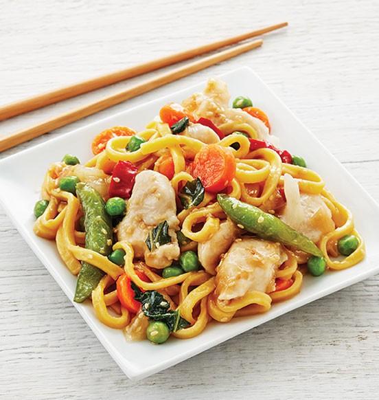 Sesame Chicken Noodle