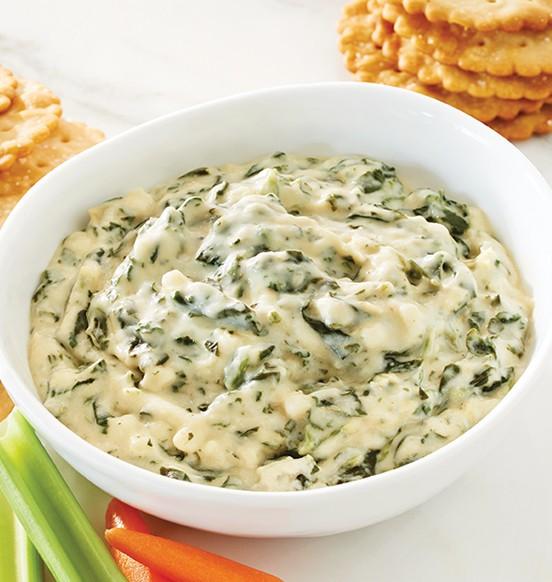 Spinach, Artichoke & Cheese Dip