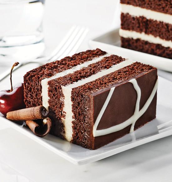 TOO TALL® Chocolate and Cream Cake