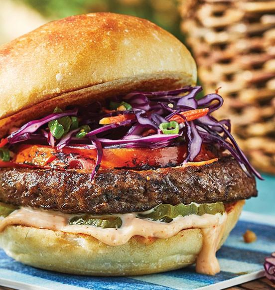 Sirloin Beef Burgers