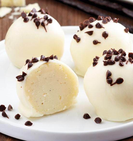 Vanilla Bean Cheesecake Bites