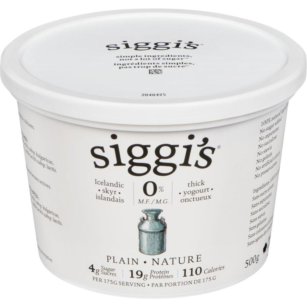Siggi's Yogurt, Plain