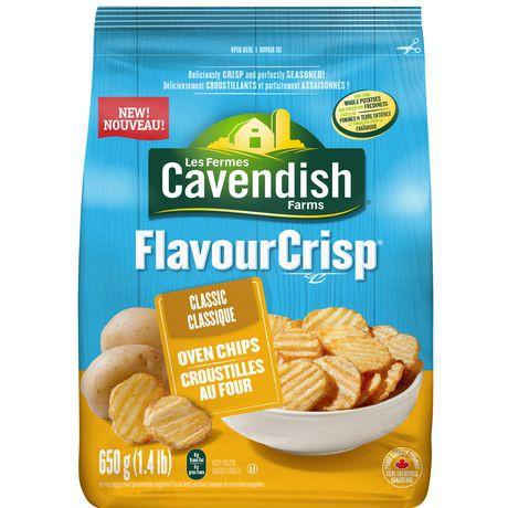 FlavourCrisp classic oven chips