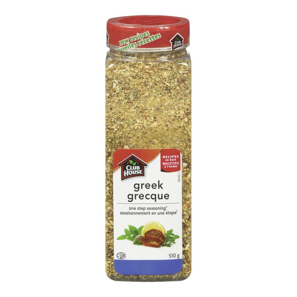 One step seasoning greek