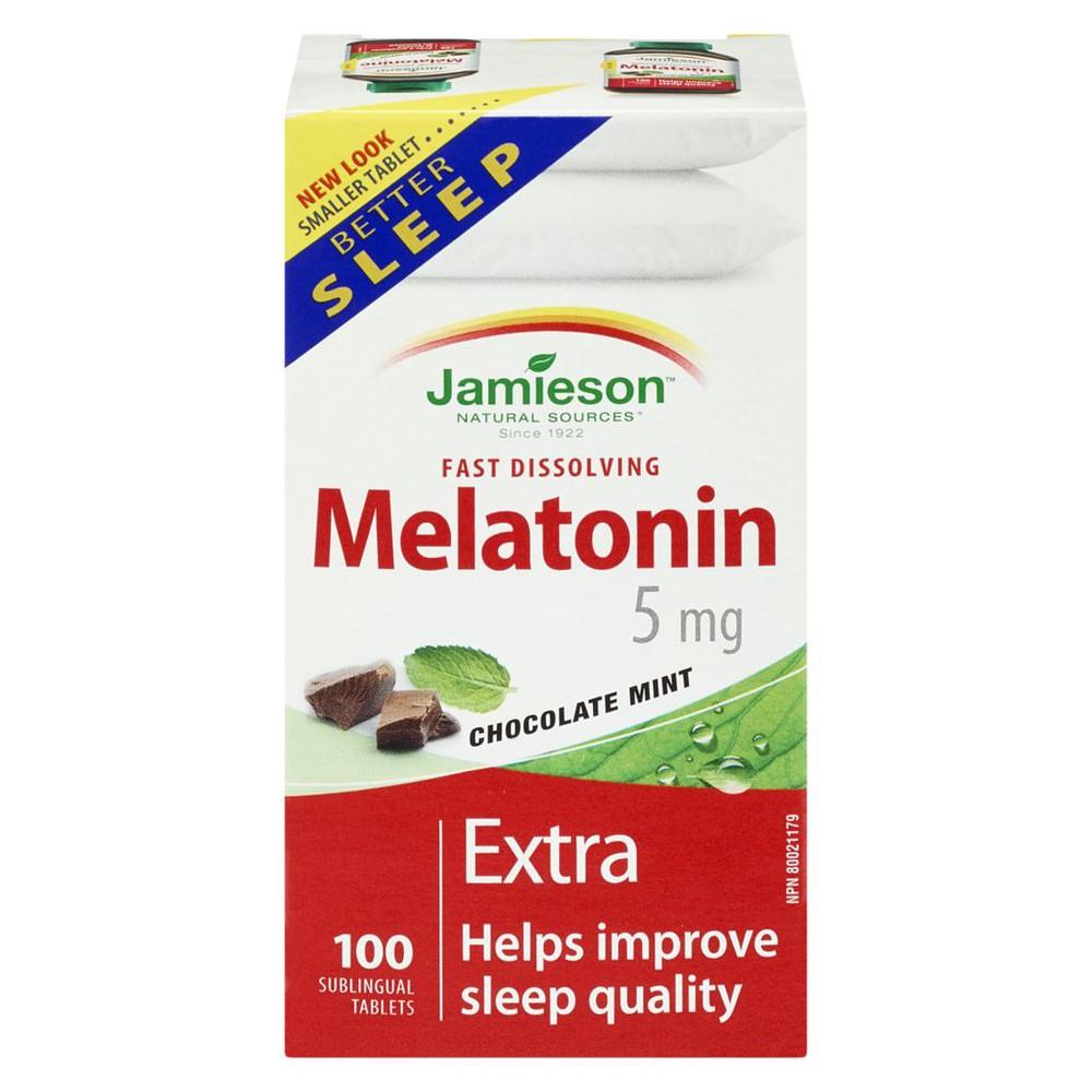 Melatonin 5mg, Chocolate Mint