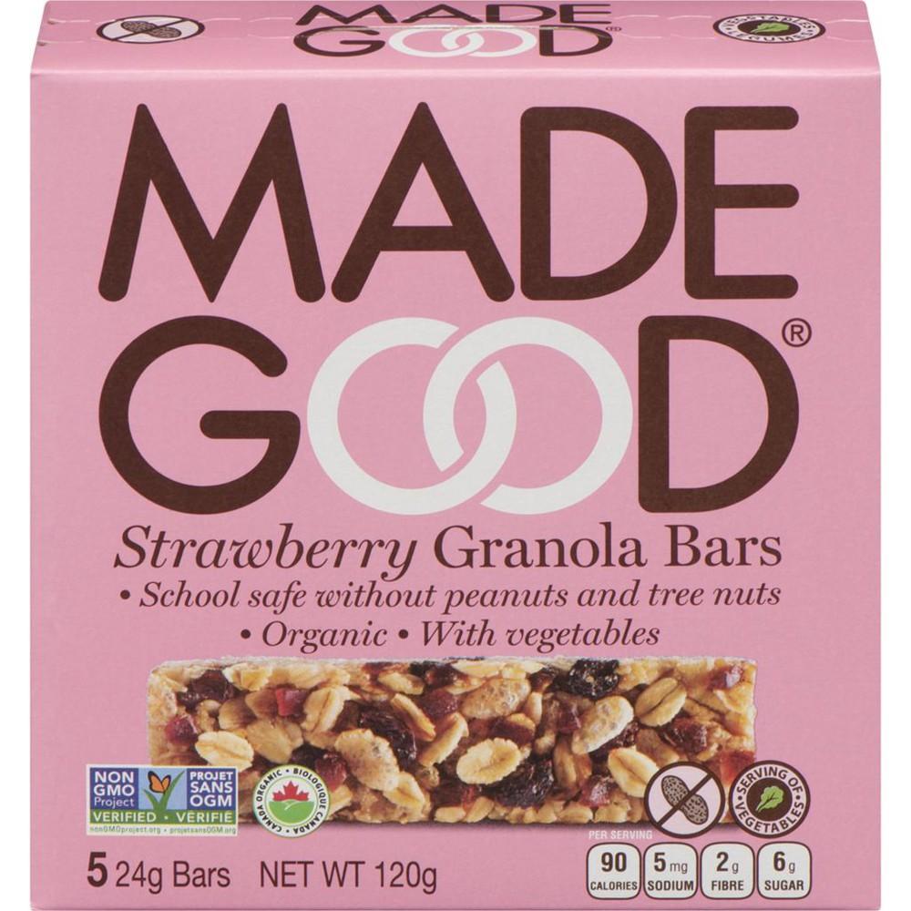 Organic Strawberry Granola Bars