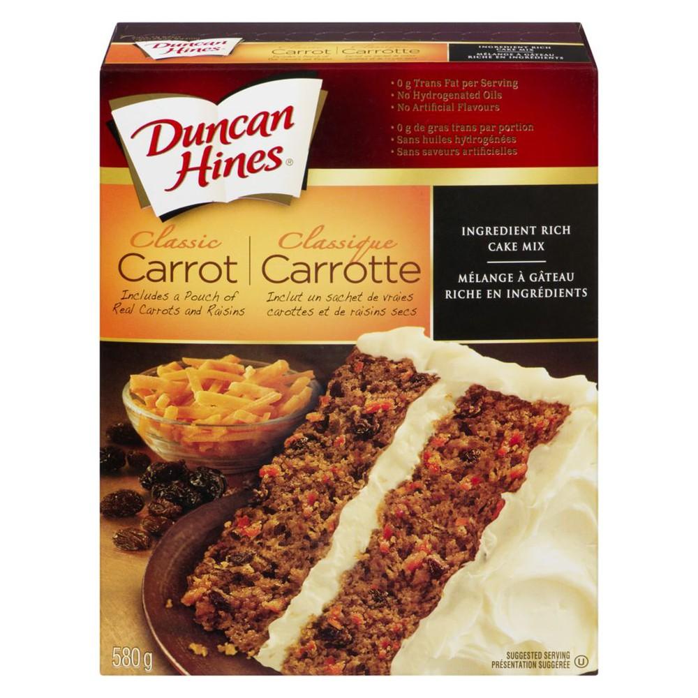 Cake Mix, Classic Carrot