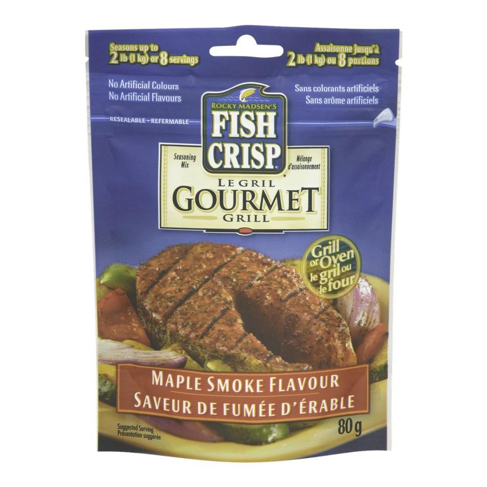 Fish Crisp Gourmet Grill, Maple Smoke Flavour