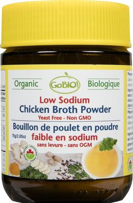 Low Sodium Chicken Broth Powder - Natural & Organic