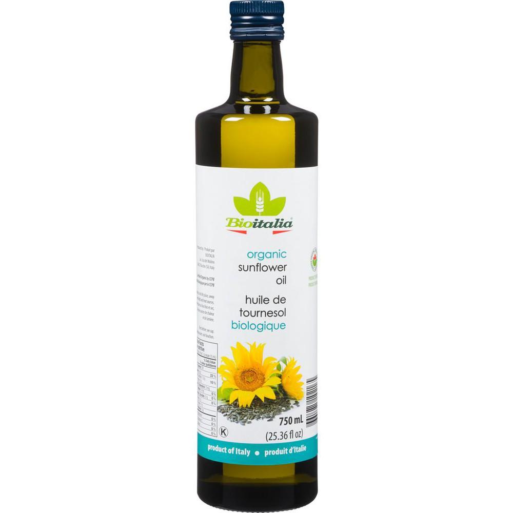 Organic Sunflower Oil - Natural & Organic