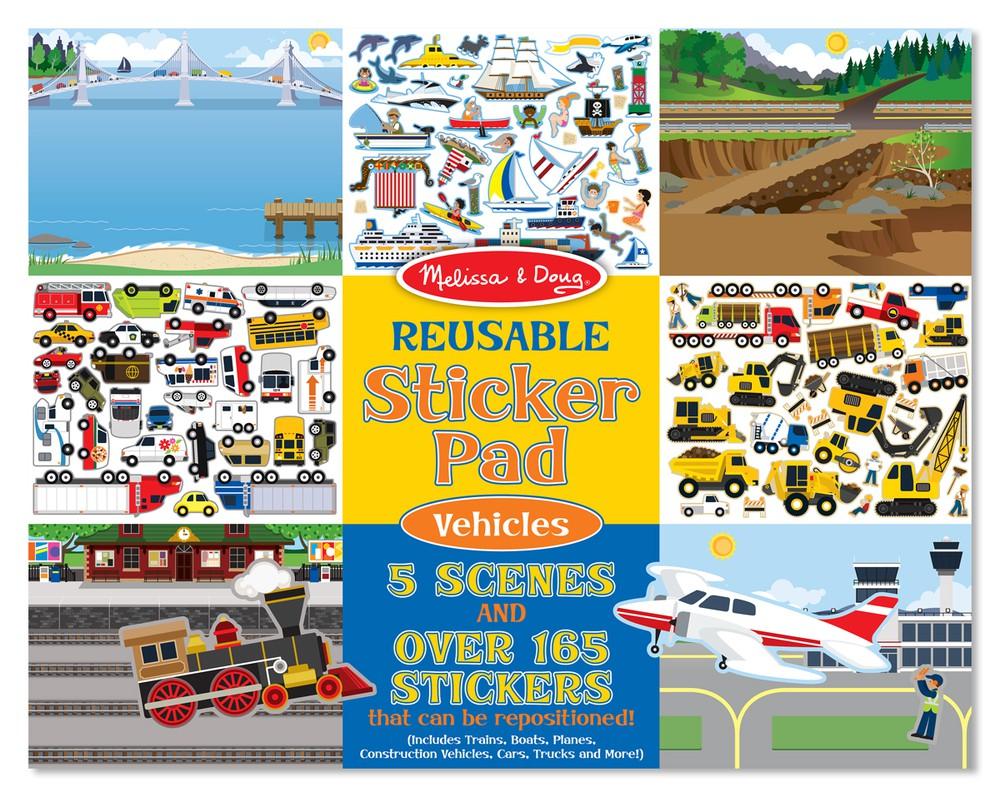 Pad stickers vehículos Envoltorio plástico 36 cm x 28 cm x 1 cm, 350 grs