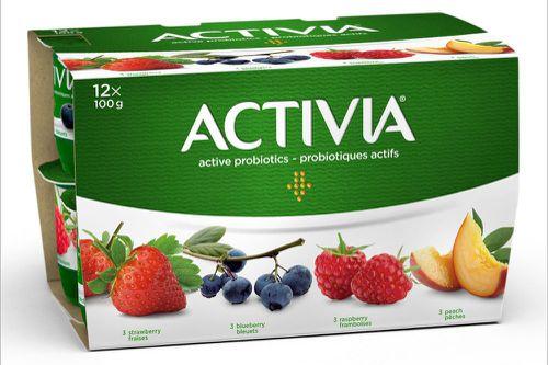 Probiotic yogurt assorted flavours