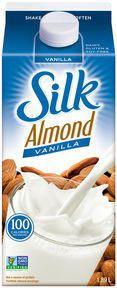 Silk Almond Beverage Vanilla