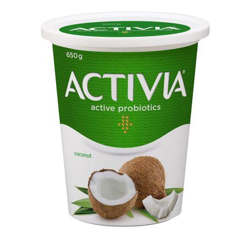 Probiotic yogurt coconut