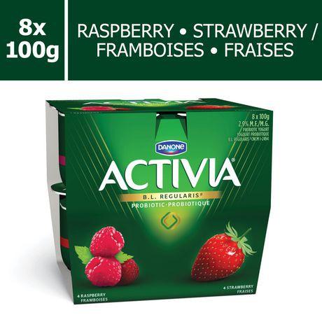 DANONE Activia Strawberry/Raspberry 2.9