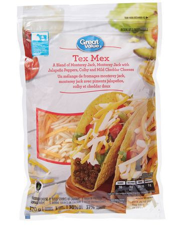 Tex Mex shredded cheese