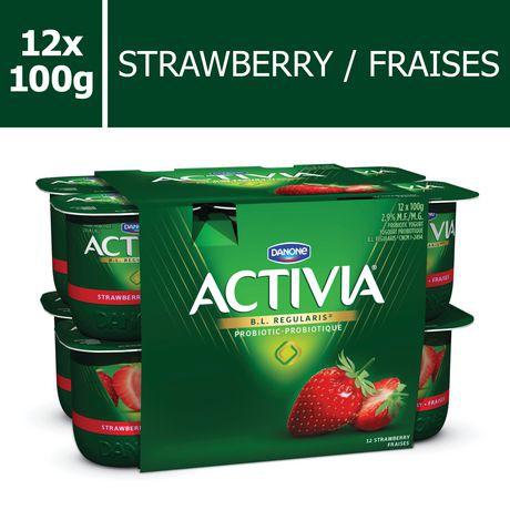 DANONE Activia Strawberry 2.9% M.F