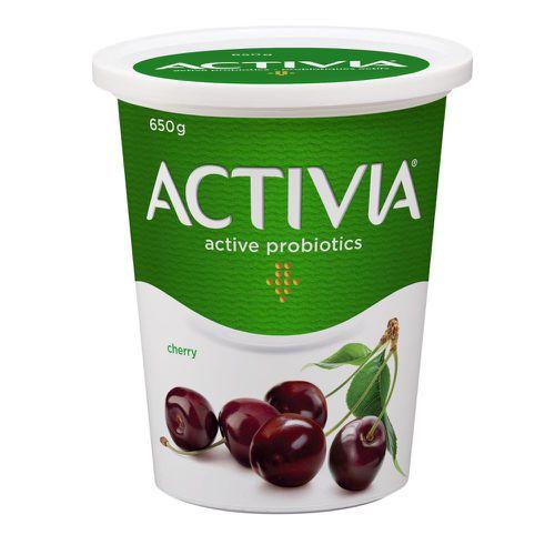 Probiotic yogurt cherry