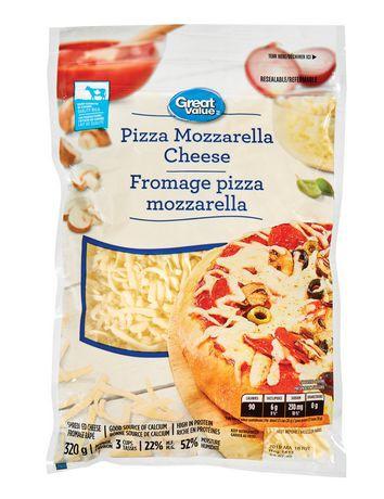 Pizza mozzarella cheese