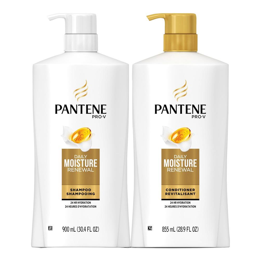 Pro-V daily moisture renewal shampoo & conditioner