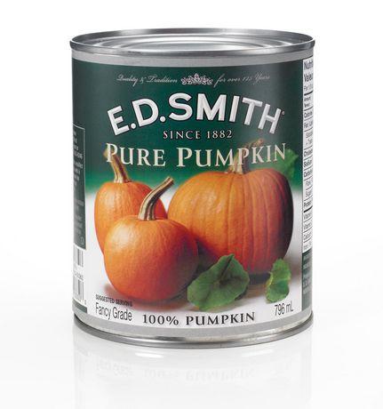 Pure canned pumpkin
