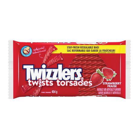 Strawberry twists candy