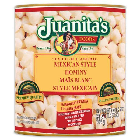 Mexican style hominy 709 g