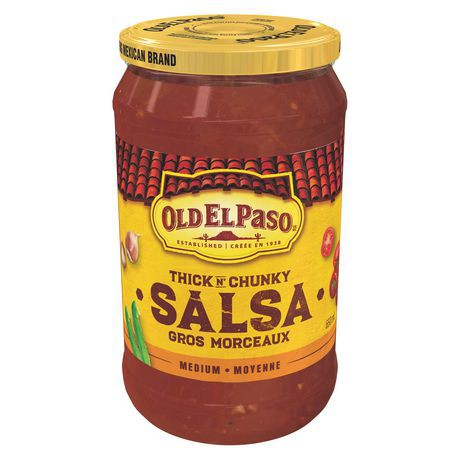 Thick 'n chunky medium sauce