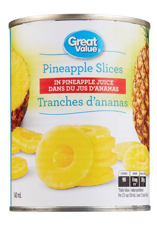 Great Value Pineapple Slices