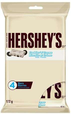 Cookies 'n' creme full size candy bar