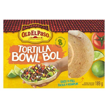 Old El Paso Tortilla Bowl