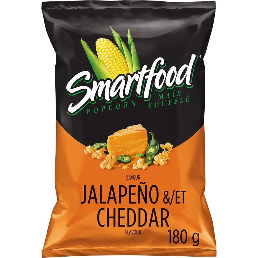 Jalapeño & cheddar popcorn