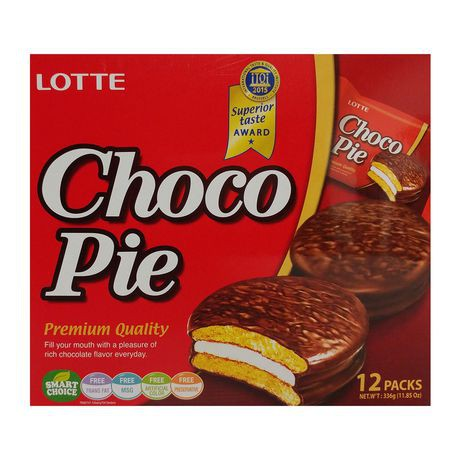 Lotte Choco Pie Chocolate Biscuits