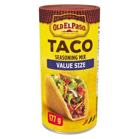 Taco Seasoning Mix Original Old El Paso 177 G Delivery Cornershop Canada