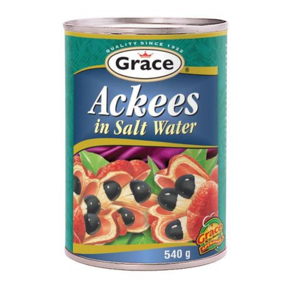 Ackees in salt water 540 mL