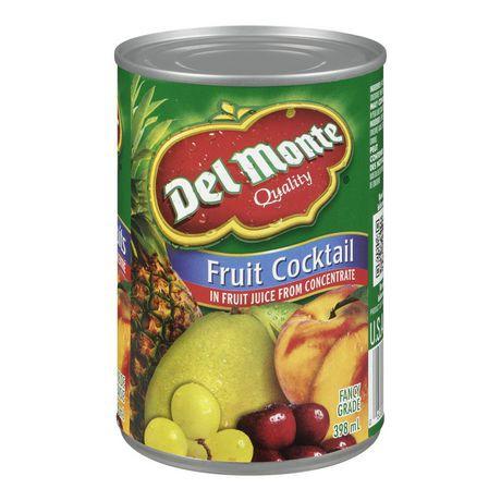 Fruit cocktail in fruit juice
