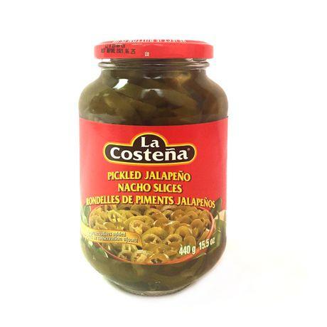 La Costena Pickled Jalapeno Nacho Slices