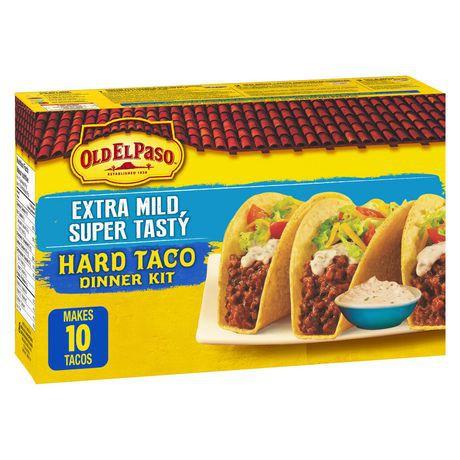 Old El Paso™ Extra Mild Super Tasty Hard Taco Dinner Kit