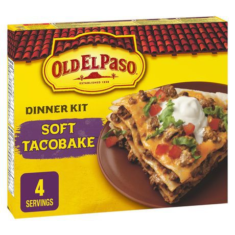 Old El Paso Soft Tacobake Dinner Kit