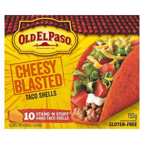 Old El Paso Gluten-Free Cheesy Blasted Taco Shells
