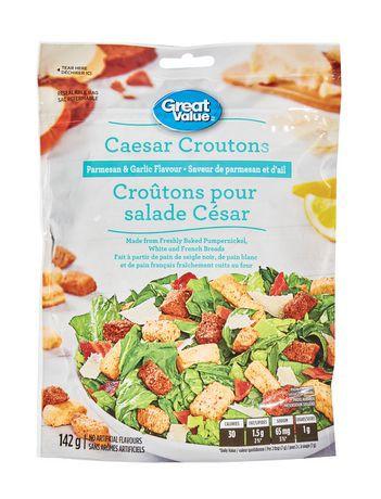 Caesar croutons parmesan & garlic flavour