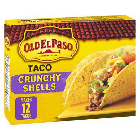Old El Paso Gluten Free Taco Crunchy Shells