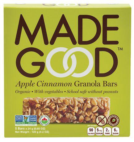 Organic Apple Cinnamon Granola Bars