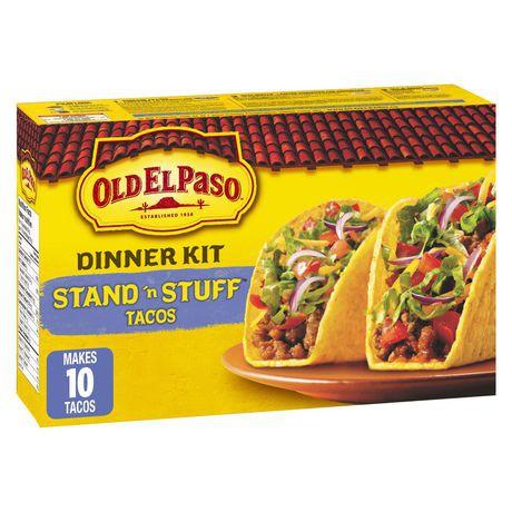 Dinner kit Stand n' Stuff tacos