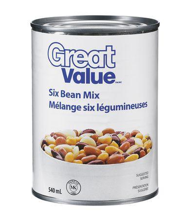 Six bean mix