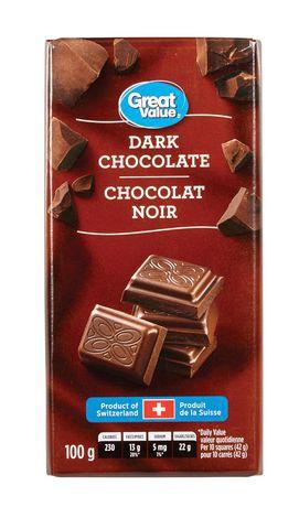 Great Value Dark Chocolate