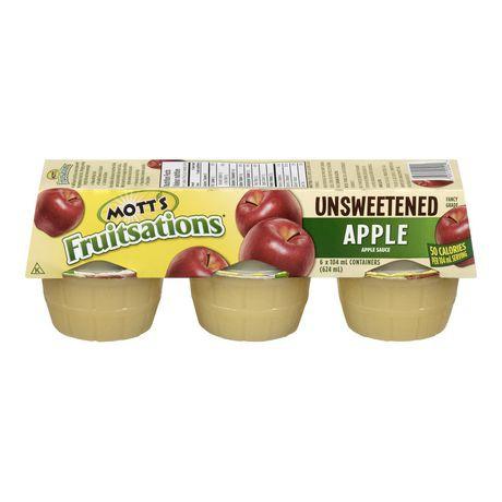 Unsweetened apple sauce
