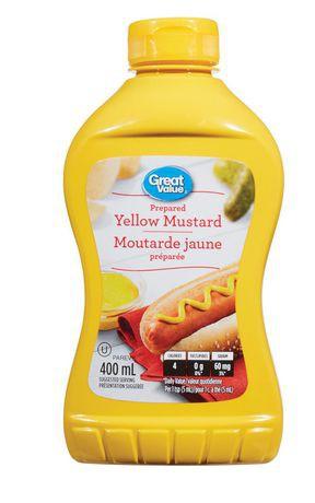 Great Value Prepared Yellow Mustard