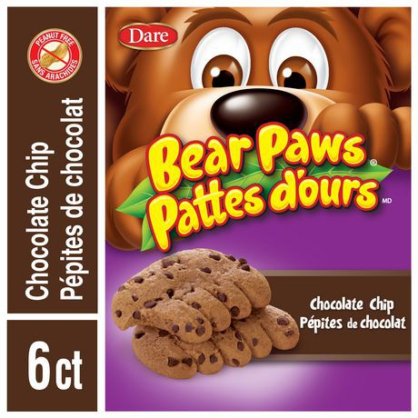 Bear Paws Chocolate Chip