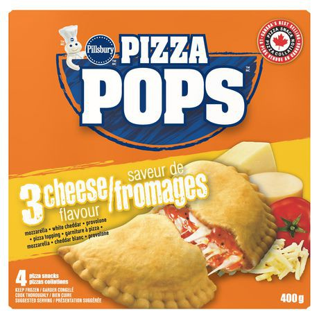 Pillsbury™ Pizza Pops™ Three Cheese Pizza Snacks